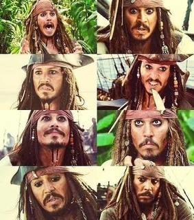 jack sparrow, johnny depp and pirates of the caribbean