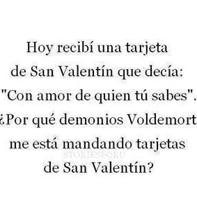 carta, harry potter and valentine's day
