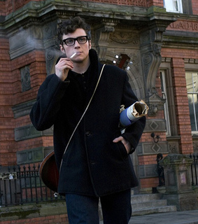 aaron johnson, actor and cigarette