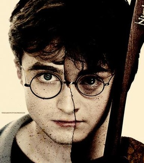 adult, child and harry james potter