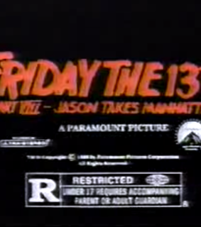 friday the 13th and horror
