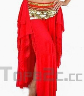 belly, dance dress and Red Beautiful