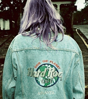 dyed hair, girl and grunge