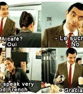 french, funny and haha