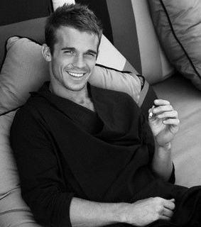 actor, attractive and black and white