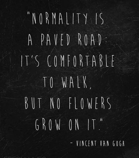 motto, normality and quotes