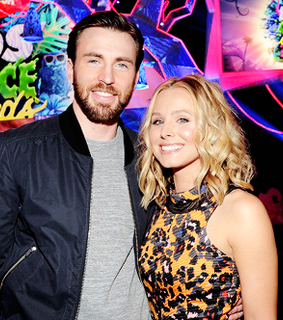 chris evans, couple and cuties