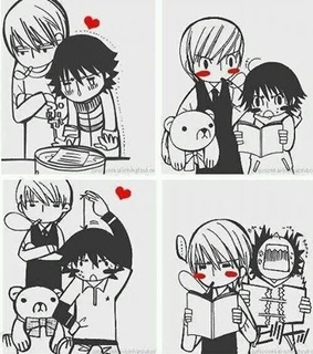bl, junjou romantica and love