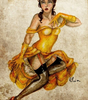 beauty and the beast, belle and burlesque