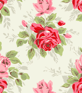 cath kidston, rosy and wallpaper