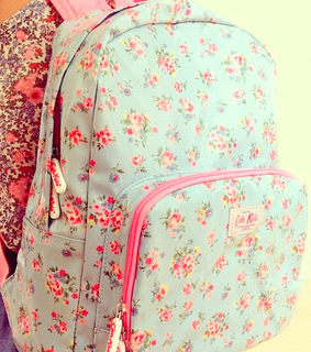 backpack, cath kidston and fashion