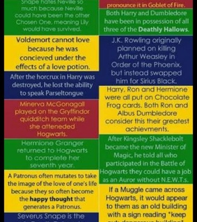 fangirling, harry potter and harry potter facts