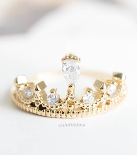 crown rings, jewelry and wedding ring