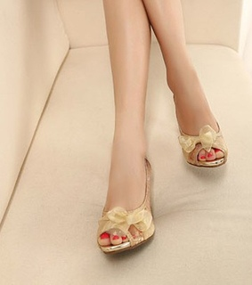 fashion, golden and golden shoes