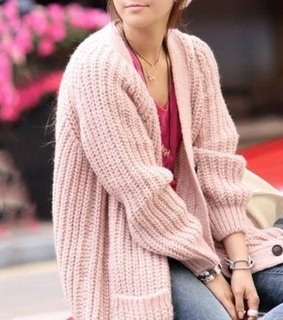 cardigan, fashion and knitted