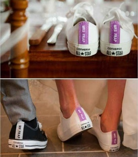 bride and groom, personalised and unique