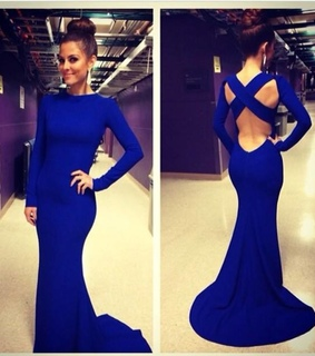 blue dress and prom dres