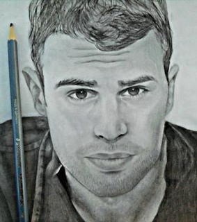 black and white, divergent and drawing