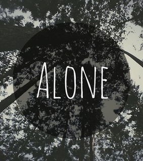 alone, black and white and cry