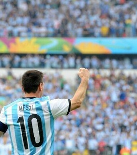 argentina, football and messi