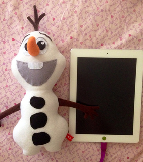 frozen, plush toy and snowman