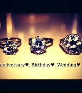 anniversary, birthday and blingbling