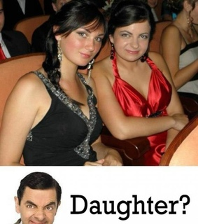 daugther, funny and mr bean