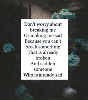 broken, poems and quotes