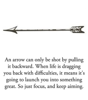 aim, arrow and black and white