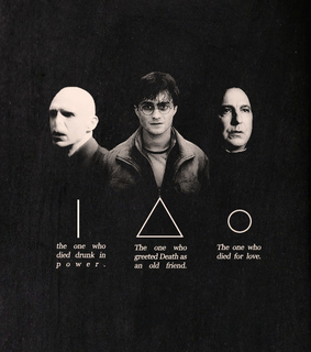 deathly hallows, harry potter and severo snape