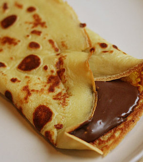 breakfast, chocolate and chocolate pancake