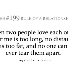 distance, forever and long