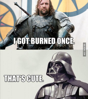 darth vader, funny and game of thrones