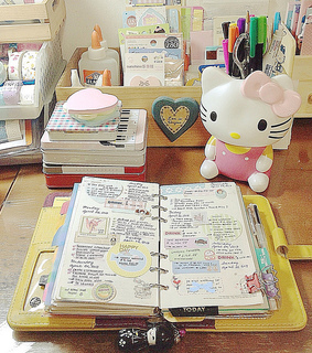 art, calender and diary