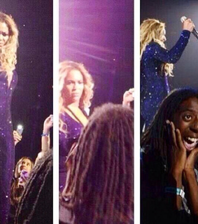 amazed, beyonce and blue ivy