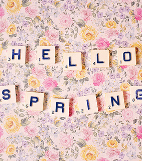 flowers, hello spring and pretty