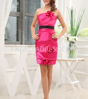 satin, strapless and sweet 16 dress