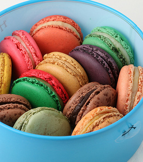 colorful, delicious and desert