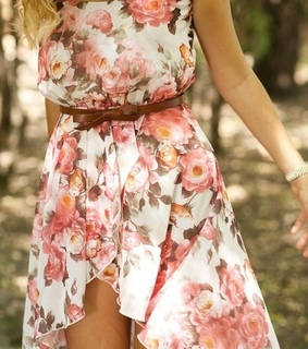 dress, fashion and floral