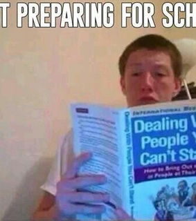 book, can't stand and fail