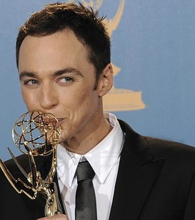 cute, emmy and jim parsons