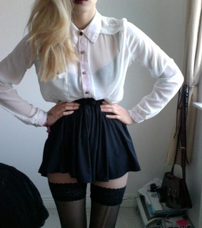clothes, fashion and gothic