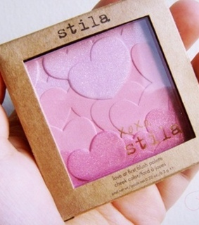 beauty, blusher and hearts