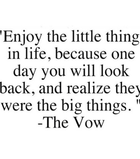 quote, the vow and je te promets