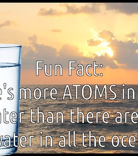 atom, fact and water