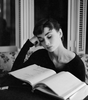 audry hepburn, books and fabulous