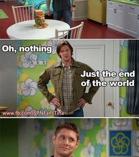 dean, dean winchester and end of the world