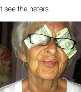 funny, money and old lady