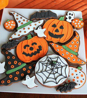 cookies, fall and food