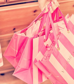 fashion, pink and shop